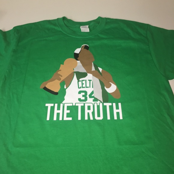 sale retailer 66b8a dd51f Boston Celtics Paul Pierce Shirt NWT